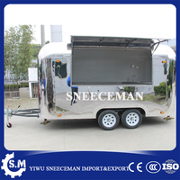 new design mirror dining food car truck street coffee vending trailer