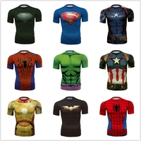 Batman Spiderman Venom Ironman Superman Captain America Winter Soldier Marvel T Shirt Avengers Costume DC Comics
