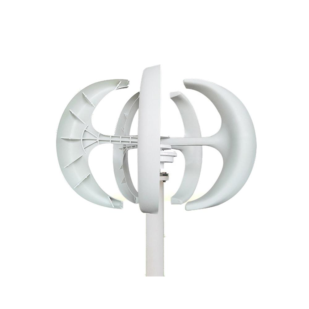 Vertical Wind Turbine Generator 300W Power 12v 24V Small 3 Phase AC Permanent Magnet Alternative Energy Generator