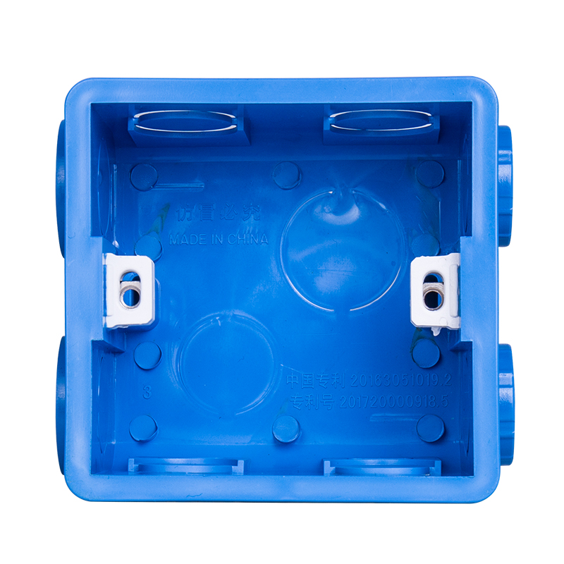86 Cassette Wall Plate Box For 86 Type PVC Wall Plate Switch And Socket Stair step Light Lamp Lighting in Dark Box from Home Improvement