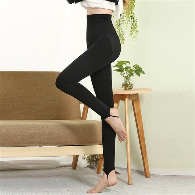 1pcs  Fashion Black Leggings  Fitness Elastic Casual Women Leggings Bodybuilding Work Out Leggings Knitted for lady pants