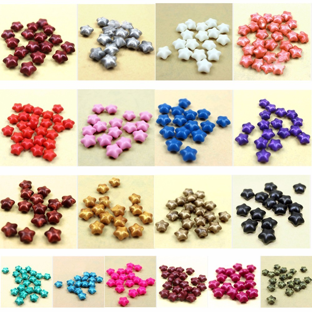 100pcs Five-point Star Vintage Sealing Wax Paint Sealing Granule Documents Stamp Supplies Wax Seal Tablet Pills