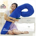 Dorimytrader 59'' / 150cmHeath Soft Plush Sea Horse Sleeping Pillow Toy Large Stuffed Lovely Cushion Free Shipping DY61169