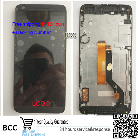 Best quality Original New Touch Screen +LCD display with frame For HTC Desire 626S test ok,+tracking in stock!