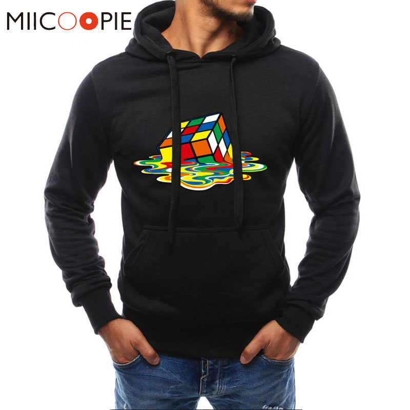 Men's Clothing Spring Autumn Hoodies Men Women Hoodies Rubik Cube 3d Print Sweatshirts Hoodies Hip Hop Hoody Tracksuits Streetwear M-4xl Good For Energy And The Spleen