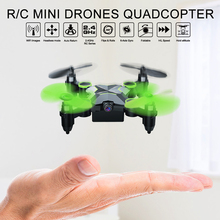 Rc Quadcopter Mini Drones With Cameras HD WiFi Phone Control and Remote Control Support One Key to Return toys for boys цена 2017