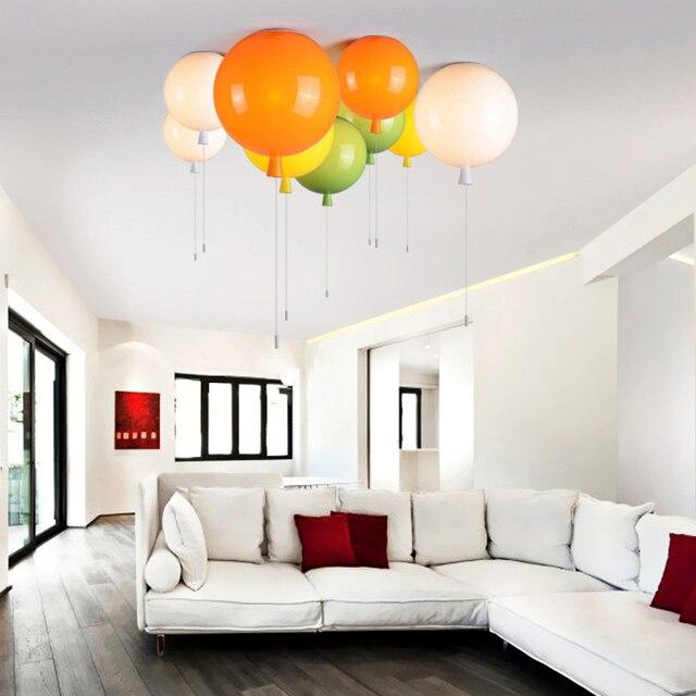 HGhomeart Colore del Palloncino Luce Moderno Semplice Ristorante ...