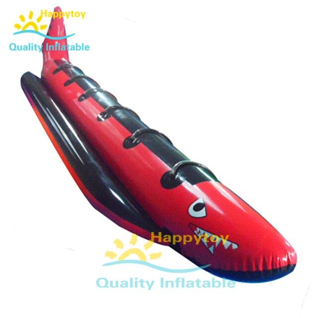 Offre spéciale fabricant original personnalisé PVC prix bas eau pas cher bateau banane gonflable/bateau banane volant gonflable