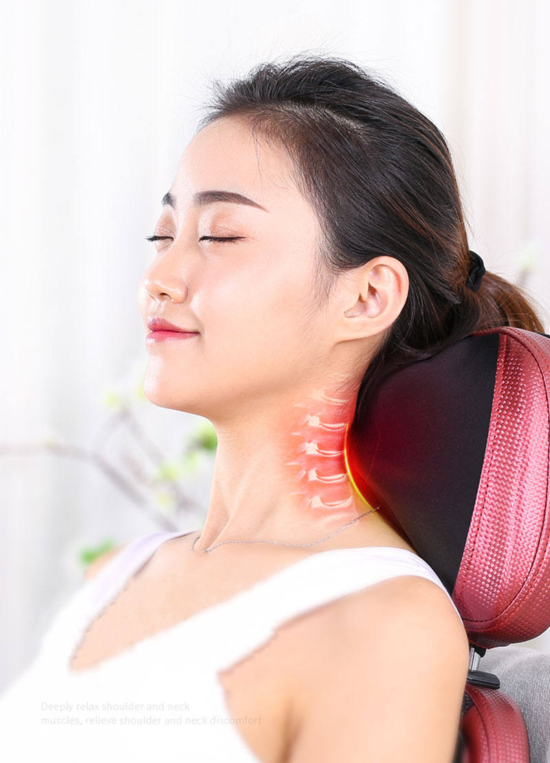 Coluna Cervical massageador multi função de vibração