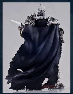 Image 4 - ที่มีชื่อเสียงเกม WOW Lich King Action FIGURE ฤดูใบไม้ร่วงของ Lich King Arthas Menethil 7 นิ้วของเล่น PVC ฟรีจัดส่ง