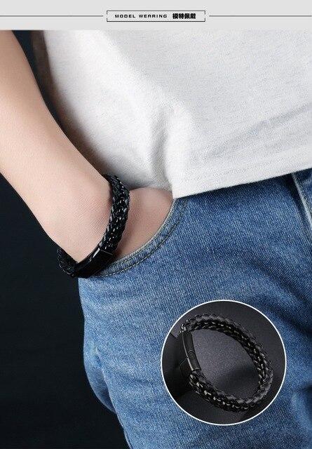 Купить модные высококачественные браслеты из нержавеющей стали для