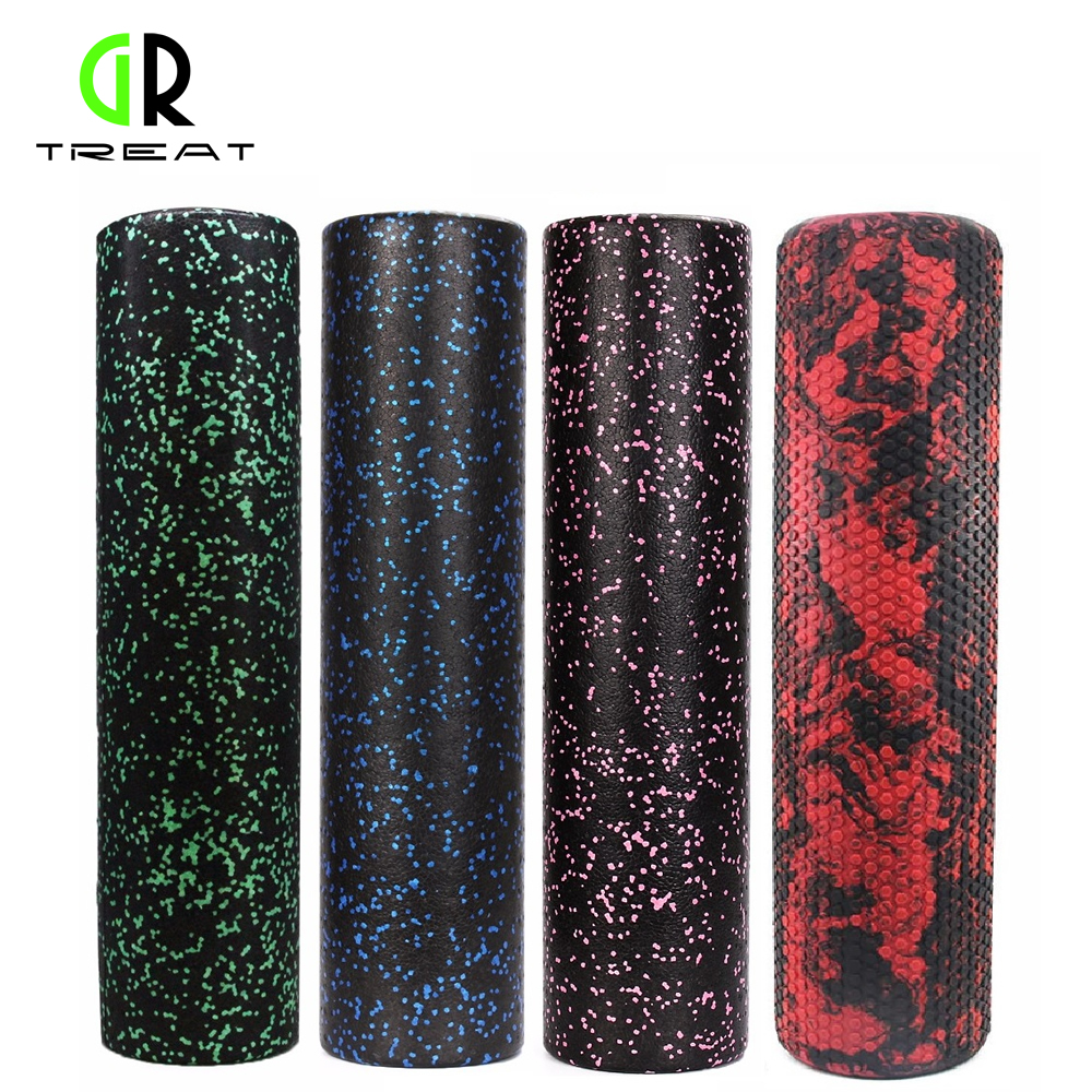 60cm Foam Roller EPP High Density Pilates Roller &Trigger-Point Foam Roller for Massage Stretching Fitness Yoga and Pilates elite fitness massager roller stick trigger point muscle roller exercise therapy releasing tight body massage tool gym rolling