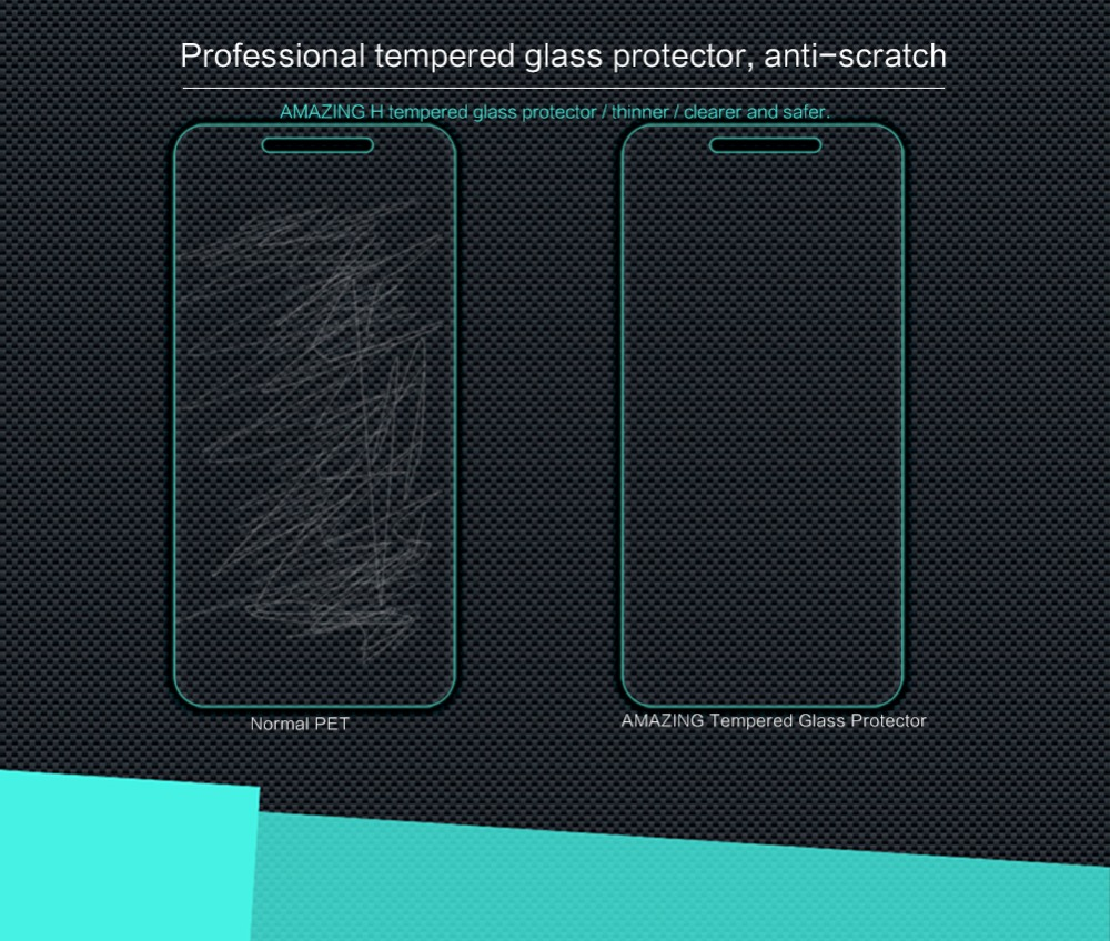 Glass Film For Lenovo K5 A6020 Original Nillkin Amazing H Nano Anti Gores Tempered Xiaomi Redmi 4 Prime Pro Explosion Screen Protector Vibe In Phone Protectors