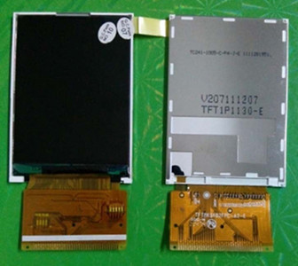 Bildschirme Videospiele Noenname_null 2,4 Zoll 37pol Tft Lcd Farbbildschirm R61580 Stick Ic Tft8k5402fpc-a2-e 240*320 Clear-Cut-Textur