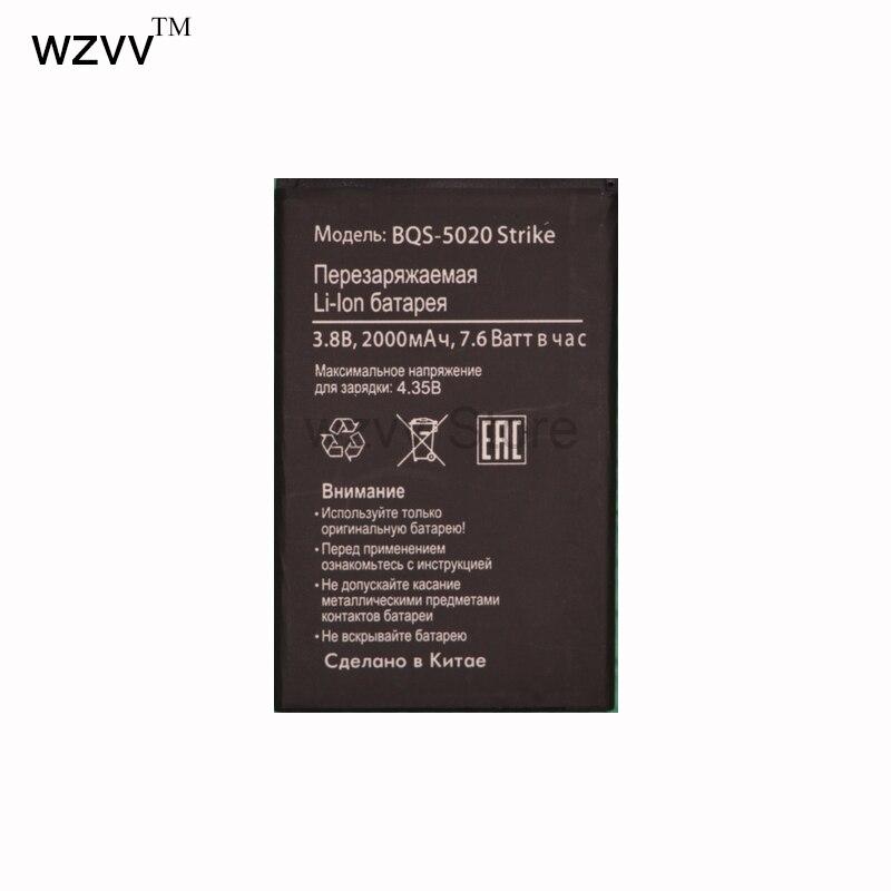 wzvv NEW 2000mah Battery For BQ Strike BQS 5020 BQS-5020 BQS-5020 Strike battery