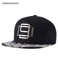 HEREMAKONO Flat Brim Cap Spandex Elastic Fitted Hats Sunscreen Baseball Cap Men Or Women Sport Casquette