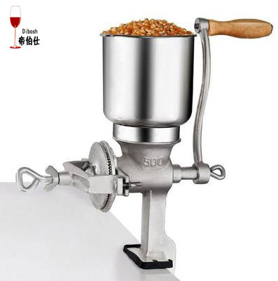 Grain Grinder Malt Crusher Craft Beer Factory Price High Quality Crusher Wholesale Nut Crusher Brewing Tool Maize Crusher