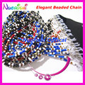 12pcs Nice Steel Wire Rope Beaded Eyeglasses Sunglasses Eyewear Spectacle Chain Cords Lanyard free shipping L836