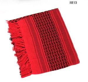 Image 5 - Pañuelo árabe táctico de algodón de 100% para hombre, pañuelo militar árabe para la cabeza, a prueba de viento, para caza, senderismo