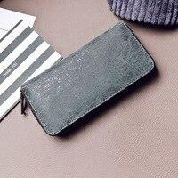 Women PU Leather Wallets Famous Brand Designer Luxury Long Wallet Women Wallets Female Vintage Simple Fashion