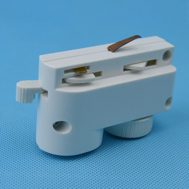 led - track leichten kopf metall arylhalogeniden track leuchtmittel zwei leitungen - connector shell scheinwerfer weg box
