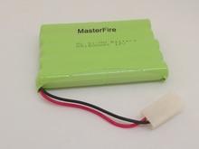 MasterFire 3PACK/LOT New Original Ni-MH 12V 1800mAh Battery Ni-MH AA Rechargeable Batteries Pack With Plugs original ni pci 6534