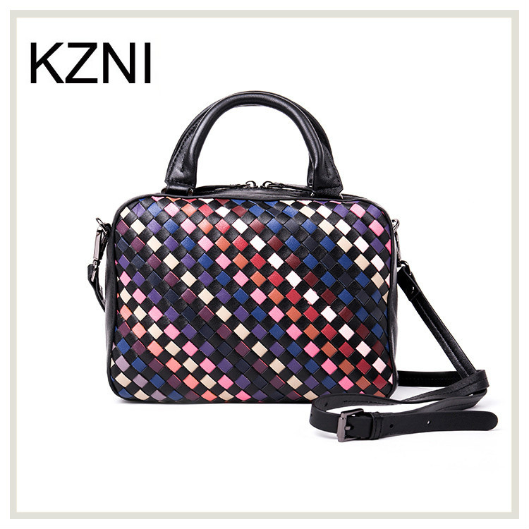 ФОТО KZNI evening clutch bags women genuine leather bag bow bags women messenger bags bolsa feminina de marca famosa Z031619