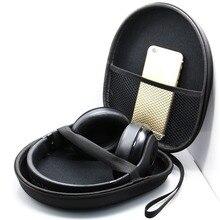 Acessórios fone de ouvido Fone De Ouvido Caso Saco Caixa de Armazenamento de Fones De Ouvido Portátil para Sony XB950B1 XB950N1 COWIN E7 Bose QC25 Grado SR80