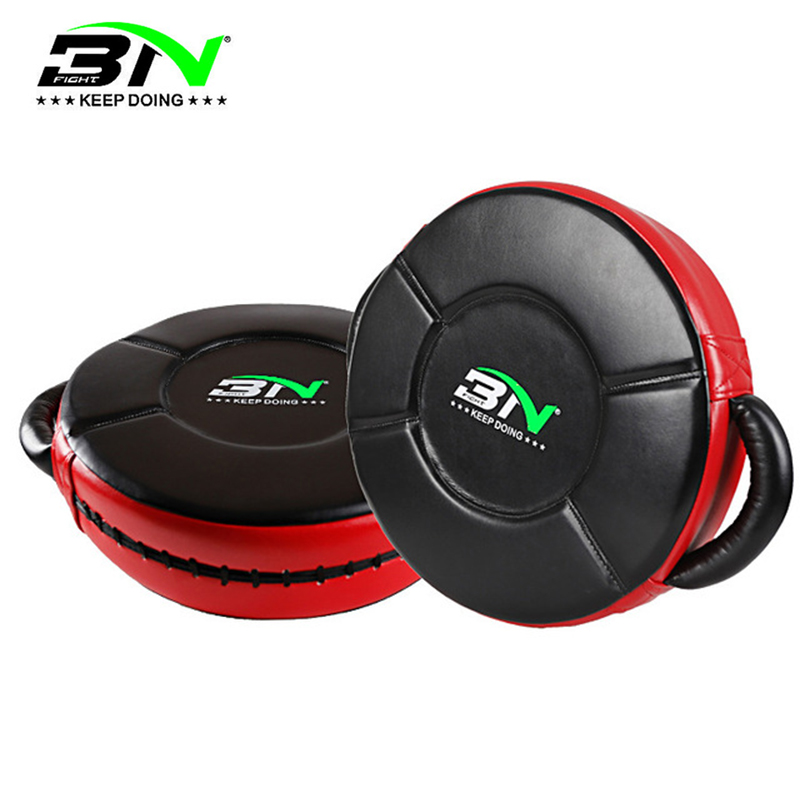 MMA Kickboxing Round Strike Shield cible d'entraînement Mauy Thai Big Pad cible Focus boxe Jab gants de frappe (vendu comme unique)
