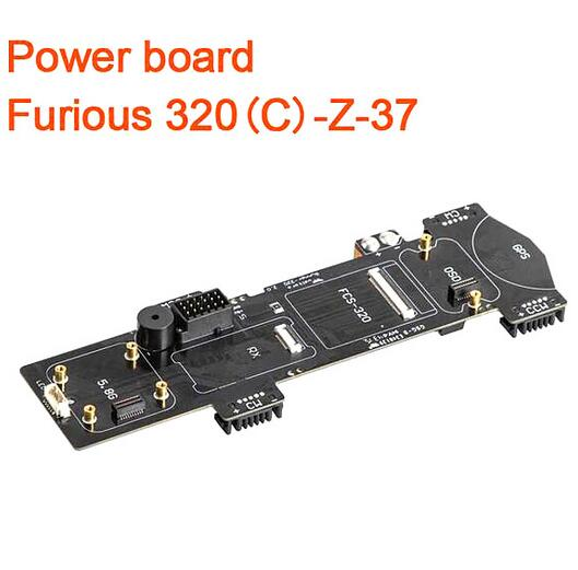 ФОТО Free shipping Walkera Furious 320 Spare Part Power Board Furious 320(C)-Z-37