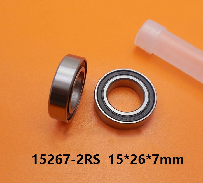 20pcs or 50pcs ABEC-5 15267-2RS 15267RS 15267 2RS 15x26x7 mm deep groove ball bearing bicycle bottom bracket bearing 15*26*7 цена и фото