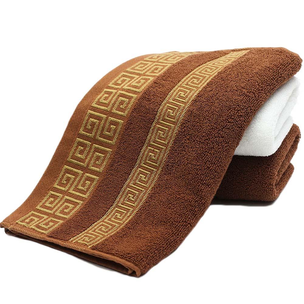 cm decorativo algodn terry toallas de mano elegante bordado bao toallas de