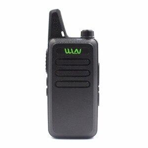Image 2 - 10PCS custodia in pelle WLN di KD C1 KDC1 RT22 16 Canali Talkie Ham Radio UHF 400 470 MHz MINI handheld Ricetrasmettitore A due Vie Radio Communicator + Cavo