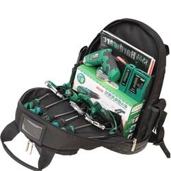 LAOA 1680D Schultern Rucksack Werkzeug Tasche Multifuctional Oxford Tuch Elektriker Taschen Für Eletricista Werkzeuge Lagerung Ohne Werkzeuge