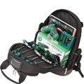 LAOA 1680D hombros mochila bolsa multifuncional de la tela de Oxford electricista bolsas para Eletricista herramientas de almacenamiento sin herramientas