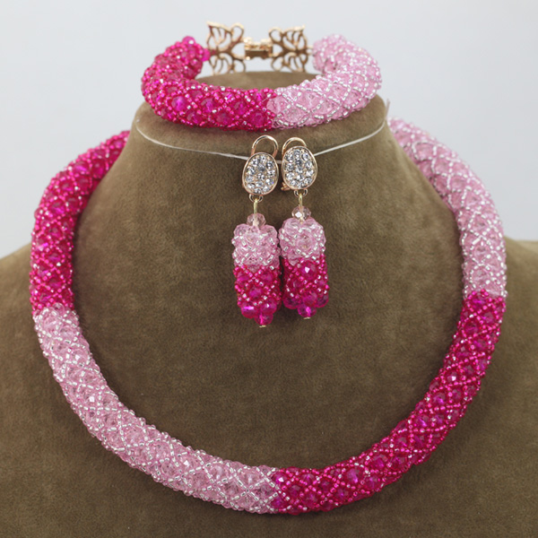 New Indian Jewelry Wedding Set Rare African Bead Sets Unique