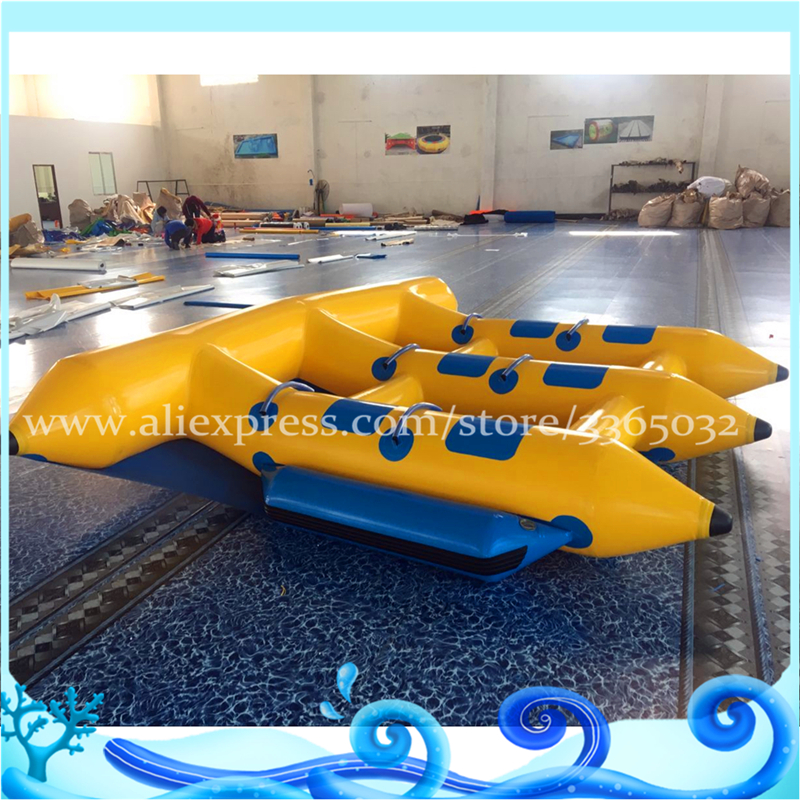 Guangzhou Flying Fish inflable remolcables 6 personas vuelan los - Deportes y aire libre - foto 5