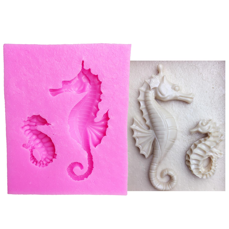 M1007 herramientas de la torta del caballo de mar seahorse molde de - Cocina, comedor y bar - foto 1
