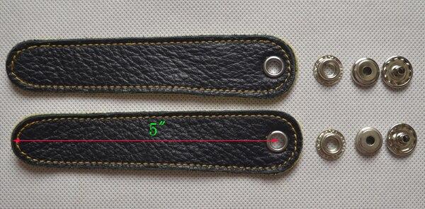 2 шт. Регулируемый аккордеонный мех Ремни кожа