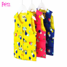 Kids Children's Clothing Vests Waistcoats Children Vest Waist Coats For Boys Vests For Girls Unisex Print Cartoon Vest Kids