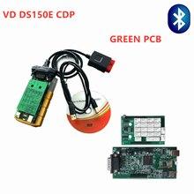 DHL бесплатно! 5 шт. VD DS150E CDP для delphi автомобильный и грузовик OBD2 сканирующий ключ программист 2016,0 многоязычные диагностические инструменты