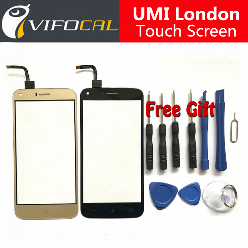 UMI London Touch Screen + Tools Set Gift High Quality Digitizer glass panel Assembly Replacement for UMI London Mobile Phone