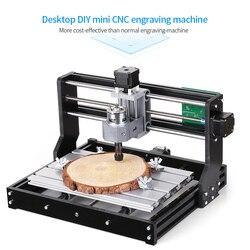 DIY CNC Router Kit EU CNC3018 PRO Mini Engraving Machine GRBL Control 3 Axis for PCB PVC Wood Carving Milling Engraving Machine