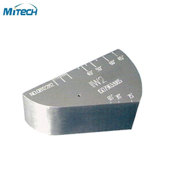 IIW2 (V2) Calibration Test Block calibration test block iiw1 v1