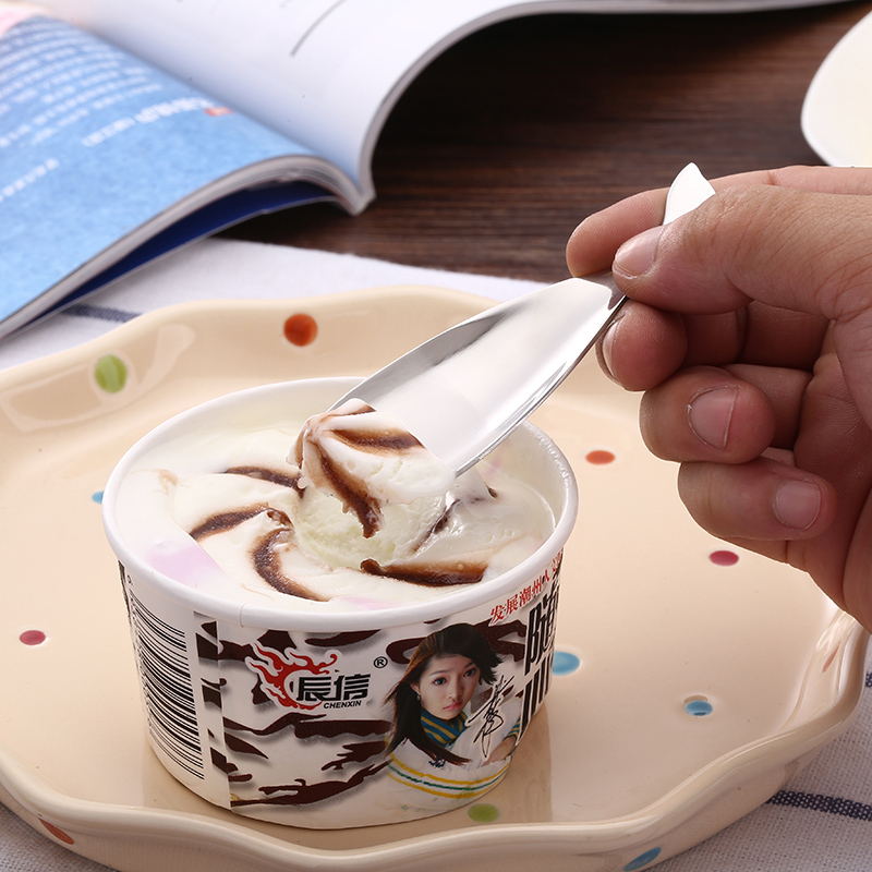 Creative Ice Cream Scoops Fruit Scoops Multi function Stainless Steel Fish Shape Ice Cream Tools in Ice Cream Scoops Stacks from Home Garden