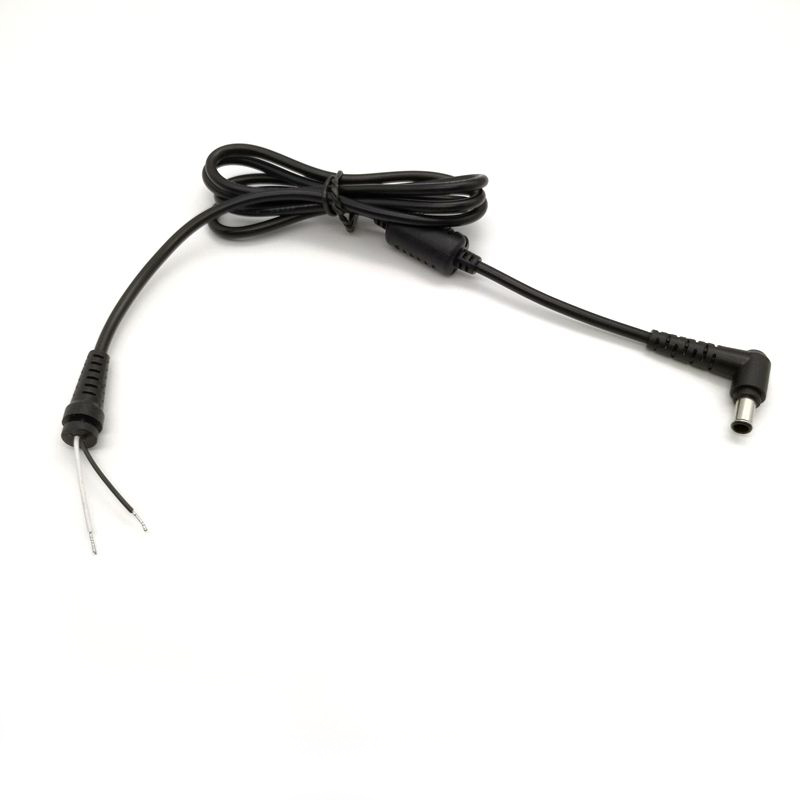 1piece DC power cable 6.5x4.4mm 6.5*4.4mm Power Supply Connector Laptop Charger for Sony Adapter Jack DC Cord 1.2m
