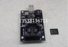EMMC 100 under pressure to USB test socket / BGA 100 aging seat / nand flash burner / empty seat
