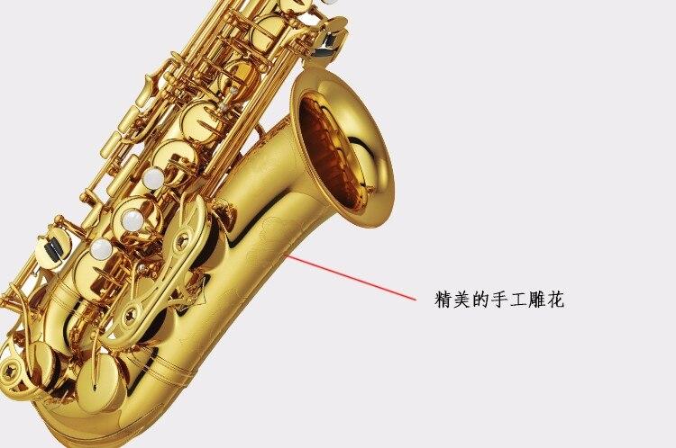 2017 Hot SAX E flat alto saxophone music professional grade saxophone DHL / UPS shipping