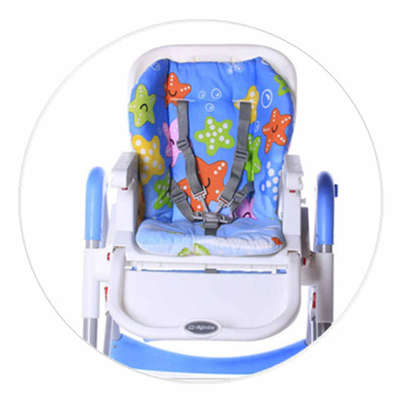 ALWAYSME เด็กเด็ก Highchair เบาะรองนั่ง Booster ที่นั่งเบาะรองนั่งเก้าอี้ให้อาหาร Pad เบาะรถเข็นเด็กเบาะ
