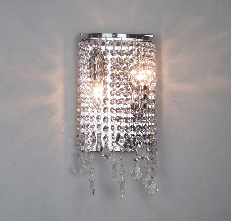 Bathroom crystal wall fixtures modern crystal wall light mirror bathroom crystal wall fixtures modern crystal wall light mirror lights contemporary led wall lamp makeup wall sconce for bedroom in wall lamps from lights aloadofball Gallery